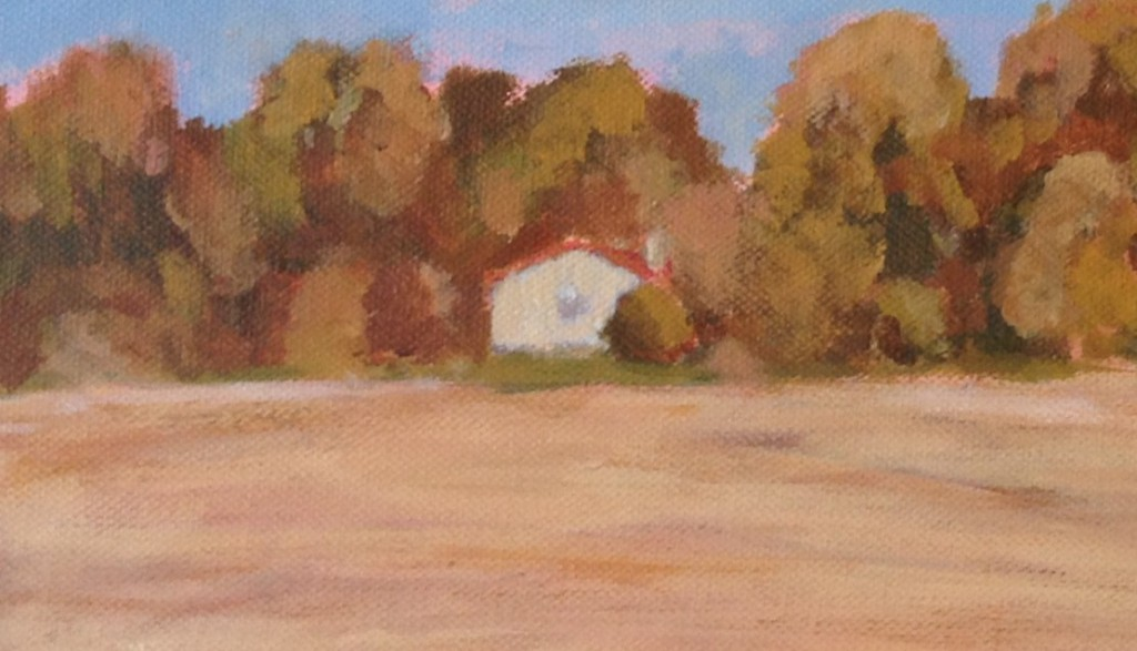 Autumn Home - Foreground Detail - Adrian Colin Doyle