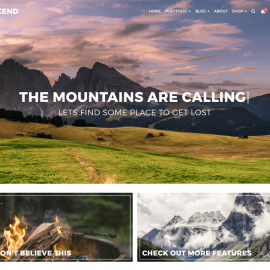 My Favourite WordPress Free Theme